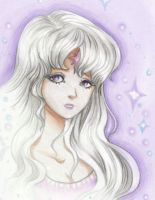 Lady Amalthea by pegacorn
