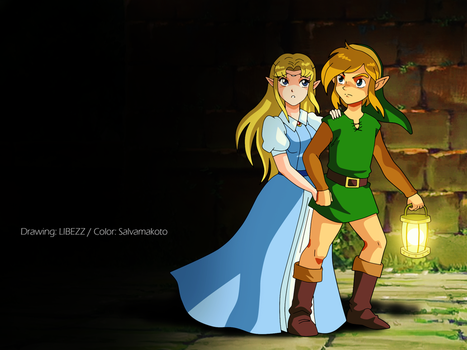 A link to the past collaboration by salvamakoto
