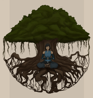 Korra - Connections by theroguesigil