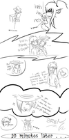 HM Comic: Of Hiems and Hooves: Collab Lineart by Bootsii