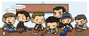 Crowley's Craft Club by piratehatter