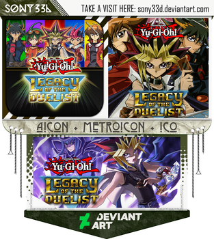 Yugioh - Legacy Of The Duelist by sony33d