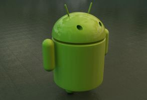 Free Android Model Template for Cinema 4D by Wybi