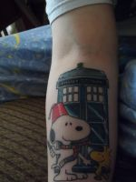 Tardis tattoo by jenna3174