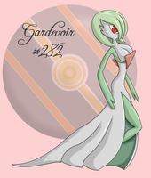 Gardevoir by MantidSwarm