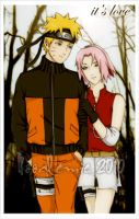 narusaku its love by noodlemie