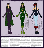 Catwoman Silver Age Costumes by Femmes-Fatales