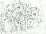 WIP- One Big Happy Family by Earthsong9405