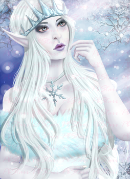 Snow Queen by Princ3zBlack13