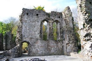 Old Priory Ruins 02. by WelshDragonStockNArt