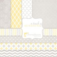 A Touch of Sunshine paper pack by CherryBloomDesign