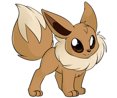 Eevee by Lustrous-Dreams