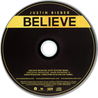 Believe - Justin Bieber (Deluxe Edition) by TostadoraMusicPacks