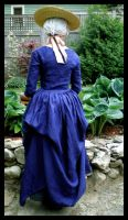 Blue gown - polonaised by IndifferentCentury