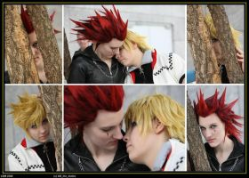Akuroku - Together forever by MiraiSadame