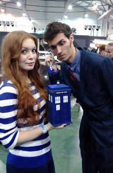 Cosplay: Amy Pond and 10th Doctor by SiaRyzh