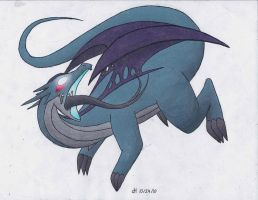 CE - Possessed Salamence by VibrantEchoes