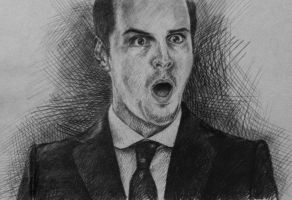 Jim Moriarty by MariaWelikaya
