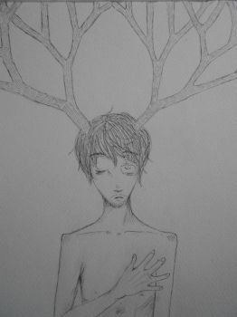 Sketch Will Graham - Hannibal by lunatic-love