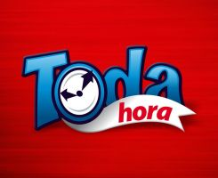 Toda Hora - Full Time logo by tutom