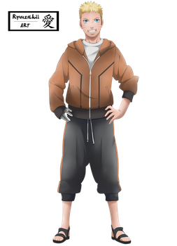 Naruto Uzumaki | The Last ~ Render by Kohaku-Art