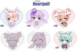 Heartpuff Batch - 4 (OPEN) by okise