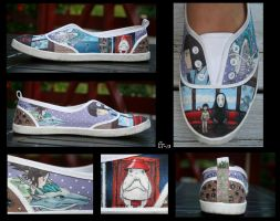 Spirited Away Canvas Shoe by Jamguri