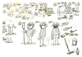How to draw The Farmer by Granitoons