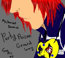 Gerard Way- Party Poison by Evymonster9406