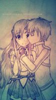 Just A Kiss - SAO by renealexa-diary