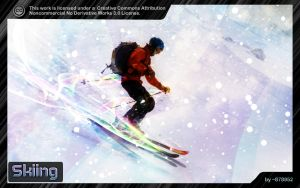 Skiing Wallpaper Pack by 878952
