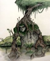 Swamp Monster by RushLightInvader