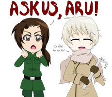 Ask Us Anything, Aru! by AskRoChu