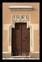 The Side Door To The Cracow's Cloth Hall by skarzynscy