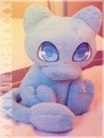 Shiny Mew Plush by xXxBLUExROSExXx