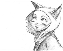 Eliza- Sketch 15 by TheLivingShadow