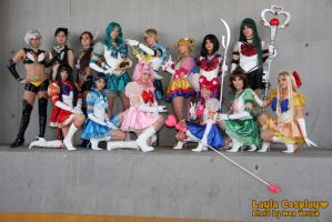 Sailor Moon Stars by xxLaylaxx