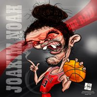 Joakim Noah by Deviantom by DeviArTZ
