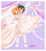 Pokeshipping Wedding by MoritoSakura