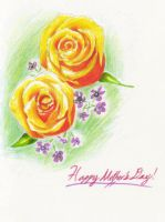 Mother's Day Roses by poplarleaves