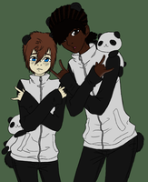 Black and White by BambooFoxFire