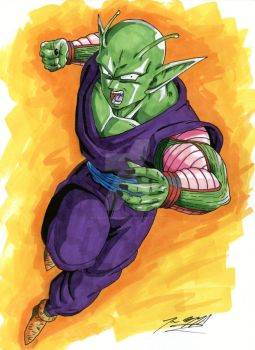 Piccolo by JesseOfficialSketch
