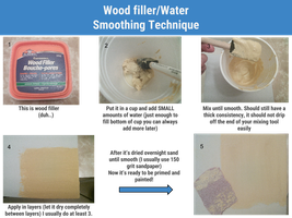 Wood filler/Water Smoothing Technique by Elita-01