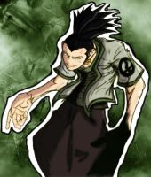 Shikamaru Colored by Baloop