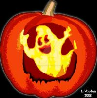 My Ghostly Pumpkin by candysmile4006
