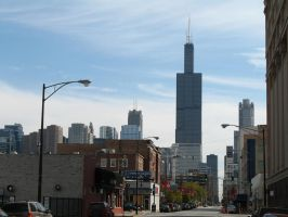 The Sears Tower Stands Tall by homrqt