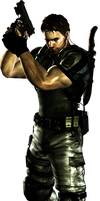 Chris redfield render 2 by WeskerFan1236
