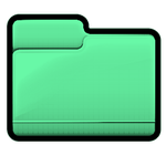 Green Folder - Pastel Series Icon by asianplatypus6
