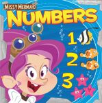 Little Missy Mermaid Numbers Book Cover by MyPetDinosaur