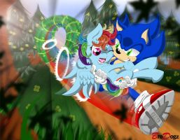 Com: Sonic and Dash - More than just sort of Fast by BroDogz